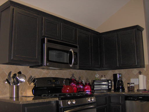 Amazing Black Faux Painted Kitchen Cabinets 512 x 384 · 195 kB · jpeg