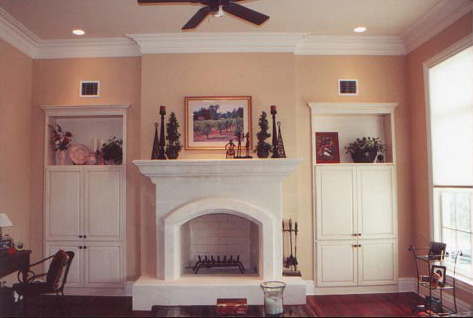 Built In Cabinets Living Room