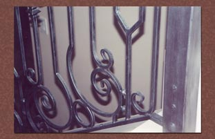 Faux painting pewter metal patina finish