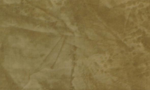 Close-up of a Venetian Plaster faux finish in a Behr color called Colosseum.