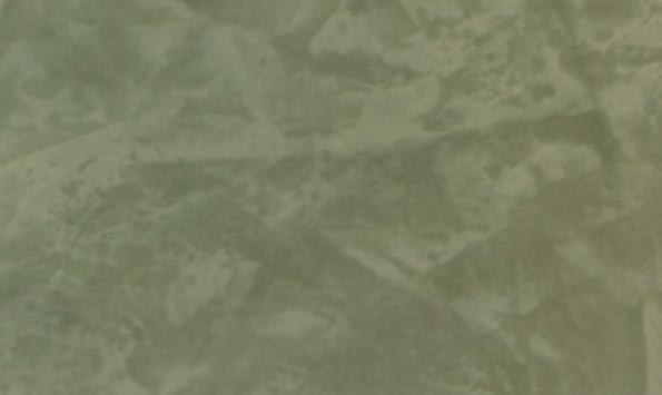 Close-up of a Venetian Plaster faux finish in a Behr color called Franciscan.