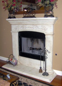 Fireplace_Stenciling_Faux_Painting_Finish