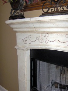 Fireplace_Stenciling_Faux_Painting_Finish_2