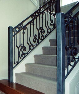 Metal_Patinas_Painted_Staircase_Railings_Faux_Finishing_Decorative_Painting